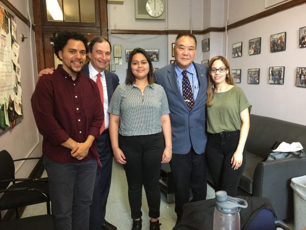 Destiny Santos-Ferrer -- 2017 SPHS Alumni Scholarship