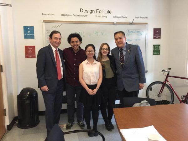 Hui Jun Fiona Wen - 2017 SPHS Alumni Scholarship