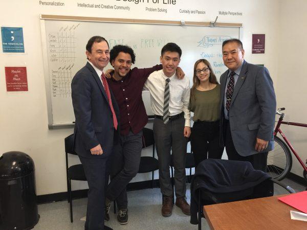 LiJing Lin - 2017 Wong Family Scholarship