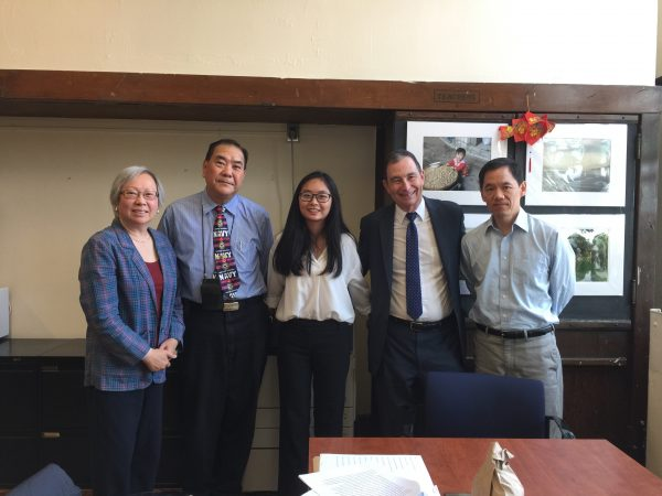 Huiyi Liu - 2018 Mitchell Schulich Memorial Scholarship