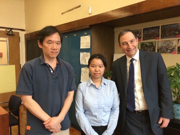 Amy Dong - 2019 SPHS  Alumni Assn. Scholarship