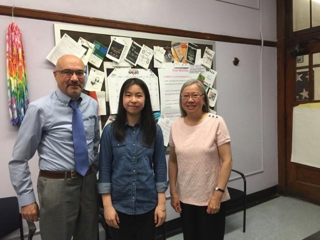 Su Ying Sun - SPHS Alumni Scholarship, 2016